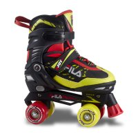 Patine cu rotile Fila Joy Black/Red/Lime
